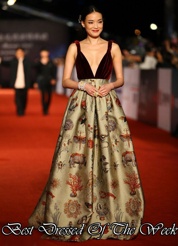 Best Dressed Of The Week - Shu Qi In Valentino Couture