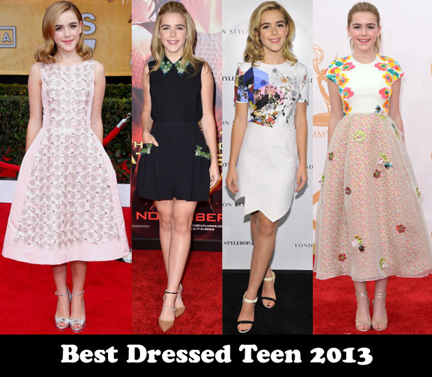 Best Dressed Teen 2013 - Kiernan Shipka