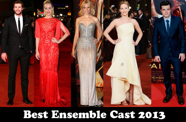 Best Ensemble Cast 2013 The Hunger Games Catching Fire Red