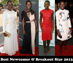 Best Newcomer & Breakout Star 2013 - Lupita Nyong'o