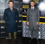 Bradley Cooper In Todd Snyder, Tommy Hilfiger and Vivienne Westwood - 'American Hustle' New York Promo Tour
