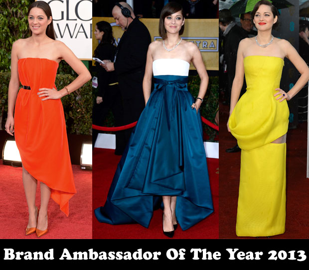 Brand Ambassador of the Year - Marion Cotillard for Christian Dior