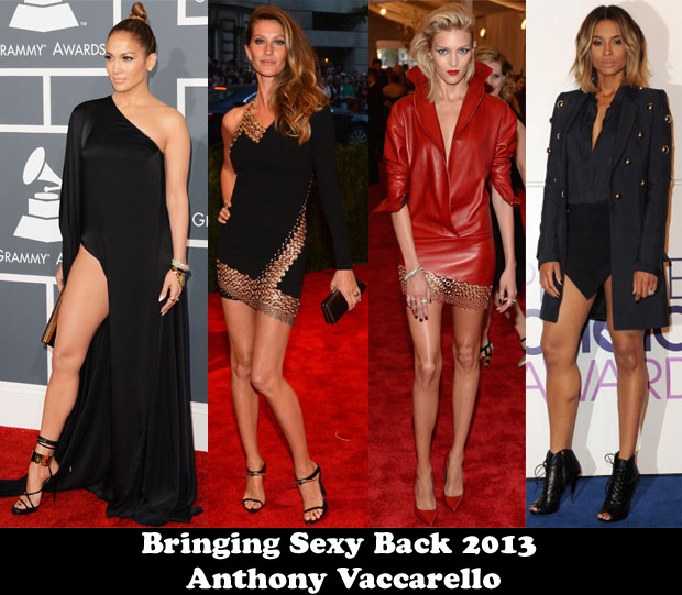 Bringing Sexy Back 2013 – Anthony Vaccarello