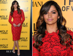 Camila Alves In Dolce & Gabbana - 'The Wolf Of Wall Street' New York Premiere