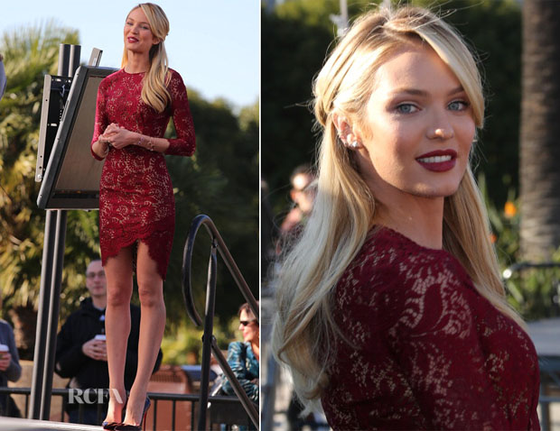 Candice Swanepoel In Lover - Extra