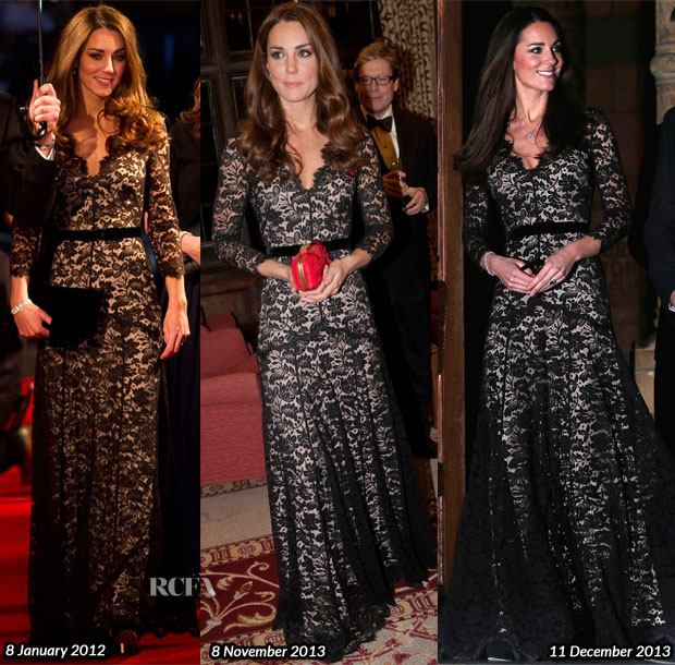 Catherine-Duchess-of-Cambridge-In-Temperley-London-David-Attenboroughs-Natural-History-Museum-Alive-3D-Screening 2