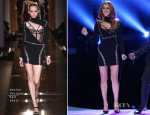 Celine Dion In Atelier Versace - The Voice Season 5 Finale