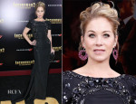 Christina Applegate In Lorena Sarbu - 'Anchorman 2: The Legend Continues' New York Premiere