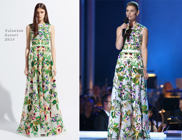 Claire Danes In Valentino - 20th Annual Nobel Peace Prize Concert