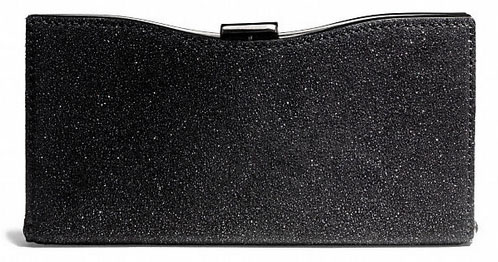 Coach Madison Caviar Framed Clutch