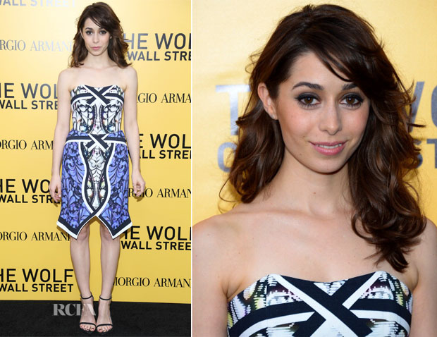 Cristin Milioti In Peter Pilotto - 'The Wolf Of Wall Street' New York Premiere