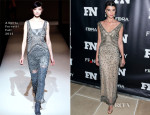 Crystal Renn In Alberta Ferretti - 27th Annual Footwear News Achievement Awards