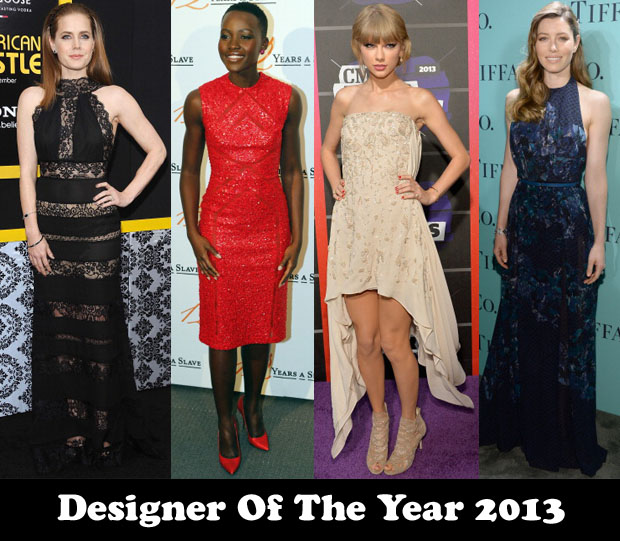 Designer Of The Year Couturier Of The Year 2013 Elie Saab Red Carpet Fashion Awards