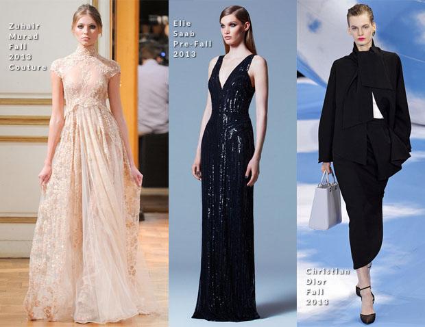 Elsa Zylberstein In Zuhair Murad Couture, Elie Saab & Christian Dior