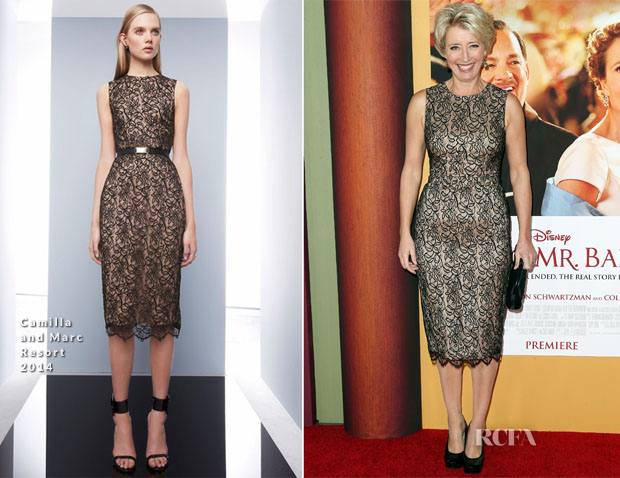 Emma Thompson In Camilla and Marc - 'Saving Mr Banks' LA Premiere