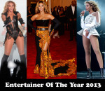Entertainer of the Year 2013 - Beyonce Knowles