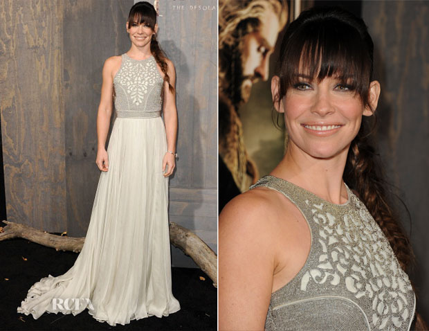 Evangeline Lilly In Catherine Deane - 'The Hobbit The Desolation Of Smaug'