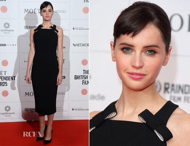 Felicity Jones In Burberry - British Independent Film Awards 2013
