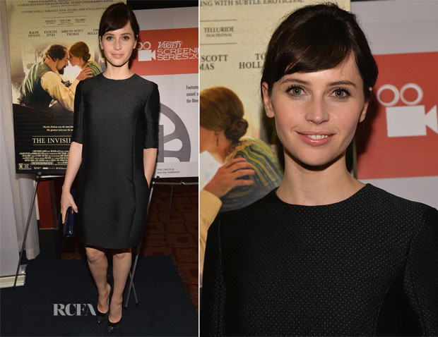 Felicity Jones In Christian Dior - 2013 Variety Screening Series 'The Invisible Woman'