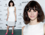 Felicity Jones In Christian Dior - 'The Invisible Woman' New York Premiere