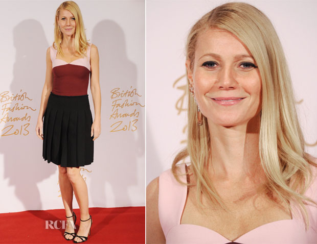 Gwyneth Paltrow In Prada - British Fashion Awards 2013