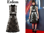 Hailee Steinfeld's Erdem 'Kali' Lace Dress