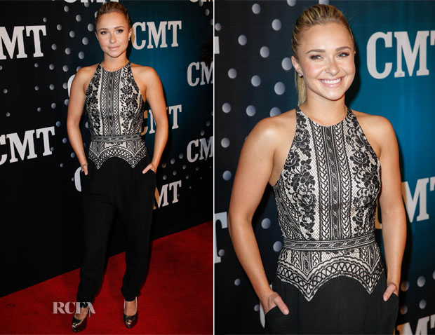 Hayden Panettiere In Lover - 2013 CMT Artists Of The Year