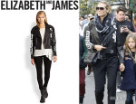 Heidi Klum's Elizabeth and James 'Erwan' Leather Jacket