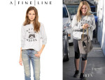 Hilary Duff's A Fine Line 'After Hours' Sweatshirt