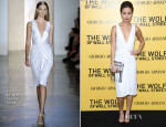 Jamie Chung In Cushnie Et Ochs - 'The Wolf Of Wall Street' New York Premiere