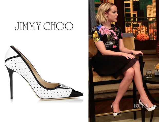 Jena Malone's Jimmy Choo 'Daiquiri' Pumps