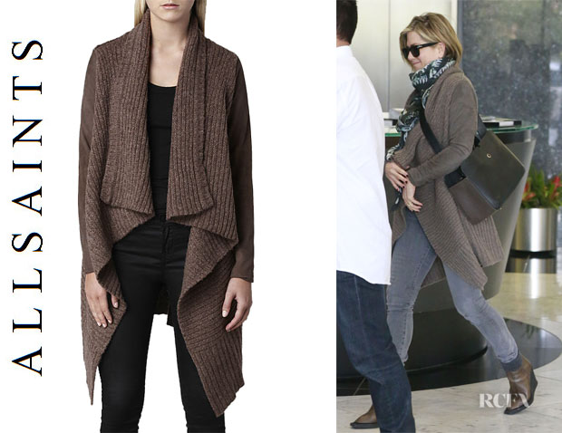 Jennifer Aniston's All Saint 'Force' Cardigan