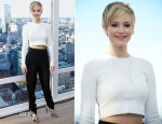 Jennifer Lawrence In Marc by Marc Jacobs -  'American Hustle' New York Press Conference