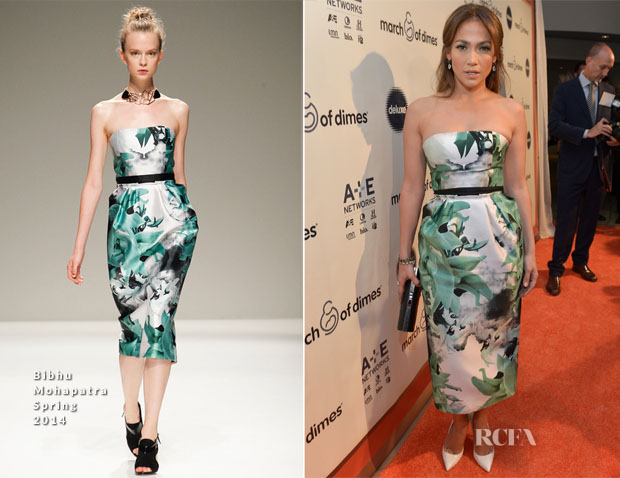 Jennifer Lopez In Bibhu Mohapatra - March Of Dimes' Celebration Of Babies Hollywood Luncheon