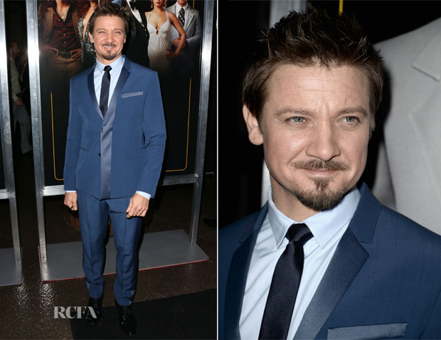 Jeremy Renner In Dior Homme - 'American Hustle' LA Screening