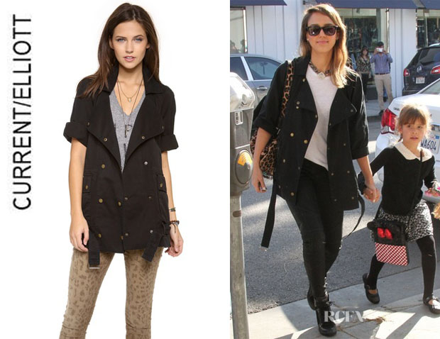 Jessica Alba's CurrentElliott 'The Infantry' Jacket