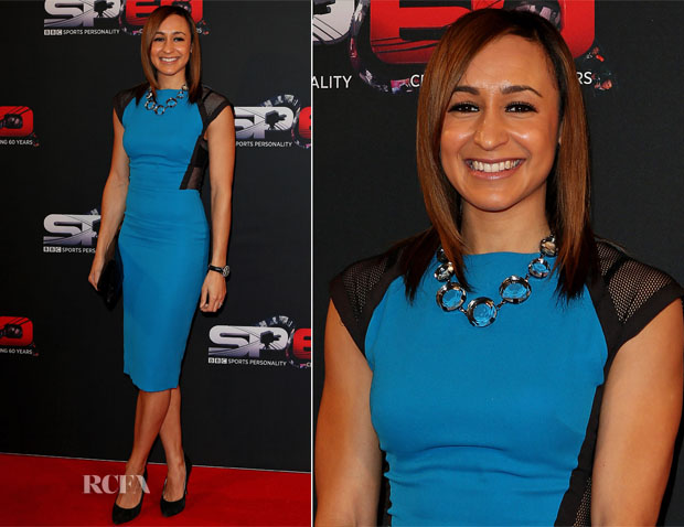 Jessica Ennis In Victoria Beckham - BBC Sports Personality of the Year Awards