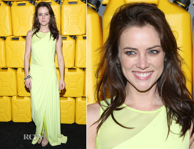 Jessica Stroup In Halston Heritage - 8th Annual Charity Ball Gala
