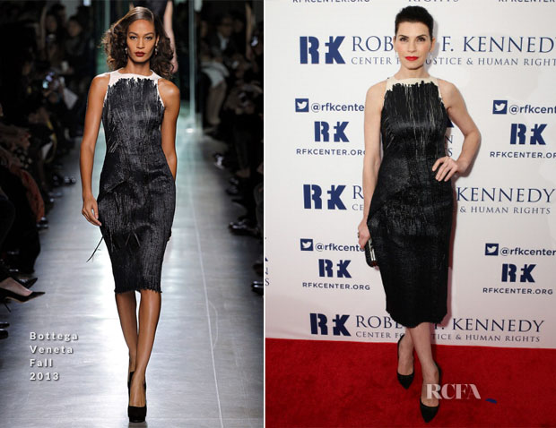 Julianna Margulies In Bottega Veneta -  2013 Ripple of Hope Awards Dinner