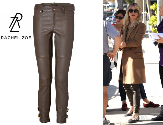 Julianne Hough's Rachel Zoe Leather 'Suzie' Pants