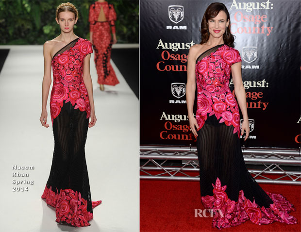 Juliette Lewis In Naeem Khan - 'August Osage County' New York Premiere
