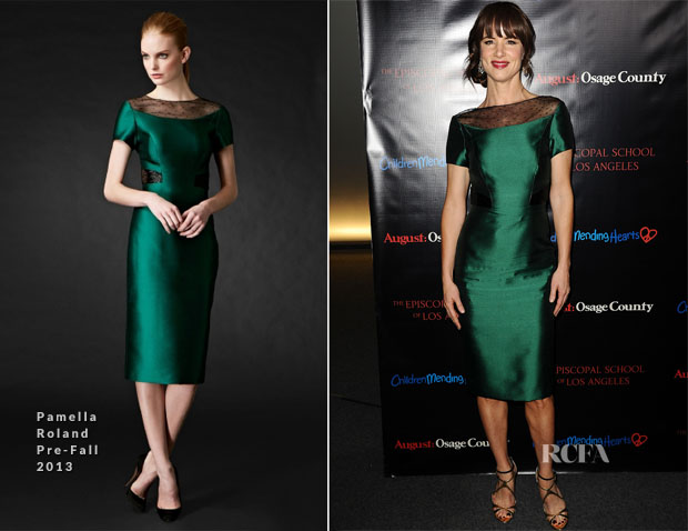 Juliette Lewis In Pamella Roland - 'August Osage County' LA Screening