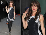 Juliette Lewis In Sachin + Babi - Good Morning America