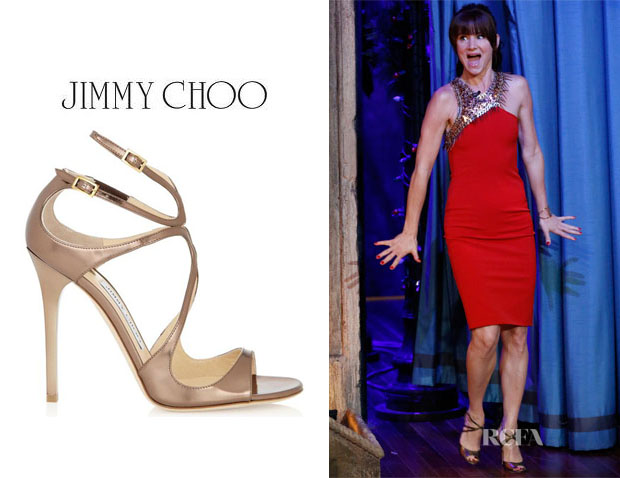 Juliette Lewis' Jimmy Choo 'Lance' Sandals