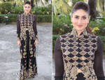 Kareena Kapoor In Anamika Khanna Couture - 'Vith U' App Launch