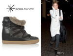 Kate Hudson's Isabel Marant 'Nowles' Shearling-Lined Boots