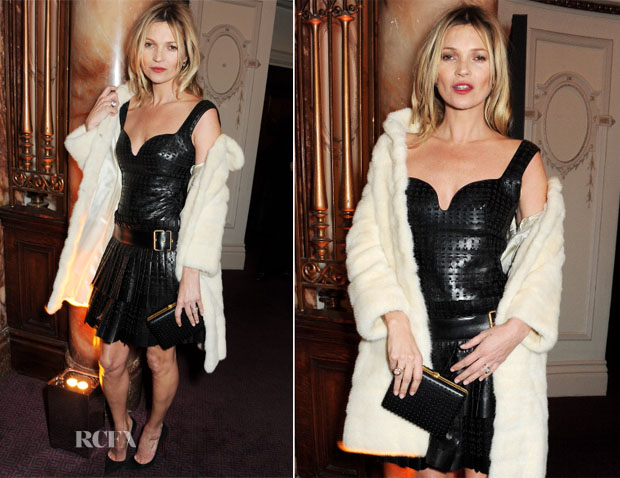 Kate Moss In Marc Jacobs - British Fashion Awards 2013