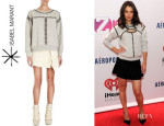 Katie Holmes' Isabel Marant 'Scotty' Studded Sweatshirt