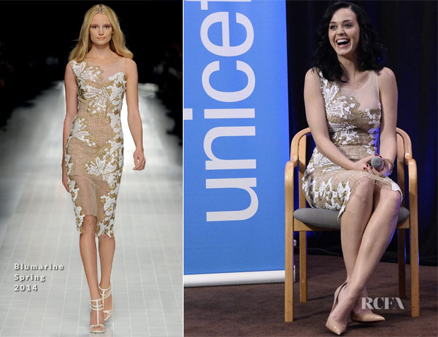 Katy Perry In Blumarine - Unicef Event