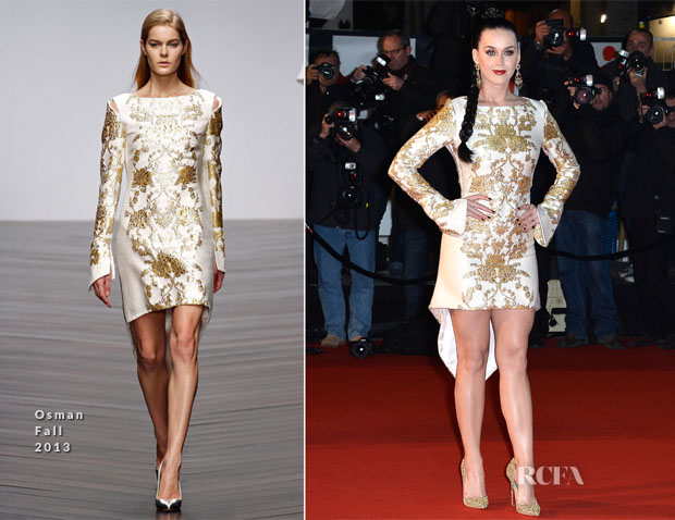 Katy Perry In Osman - NRJ Music Awards 2013